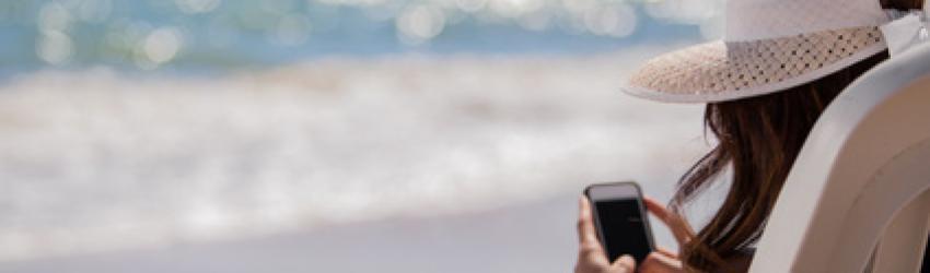 Nutzen deutsche Urlauber den Urlaub zum Mobile Shopping